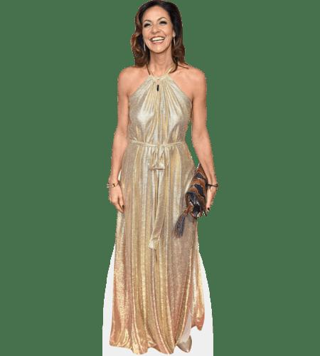 Julia Bradbury (Gold Dress)