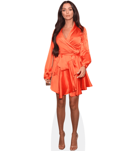 Kady Mcdermott (Orange Dress)