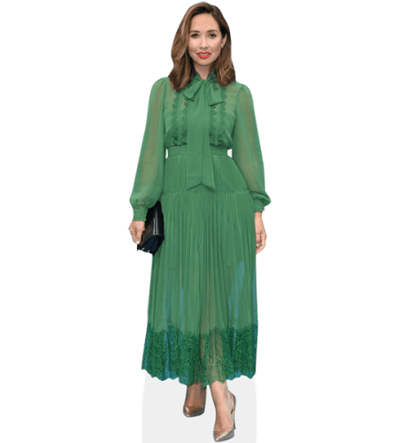 Myleene Klass (Green Dress)