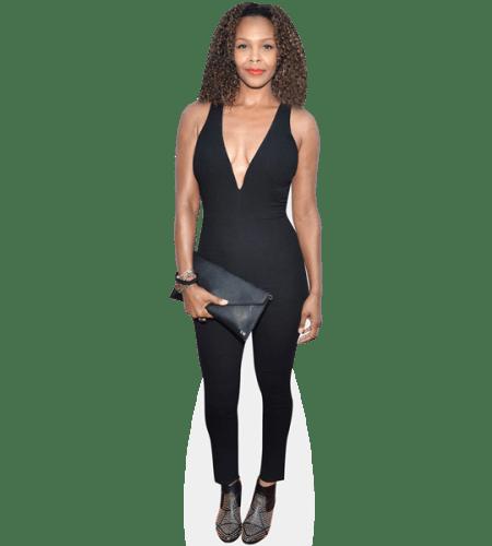 Samantha Mumba (Black Outfit)