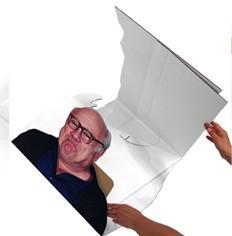 Folding Cardboard Cutout