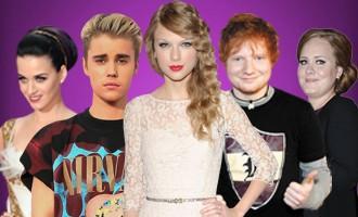 Pop Stars Pappaufsteller