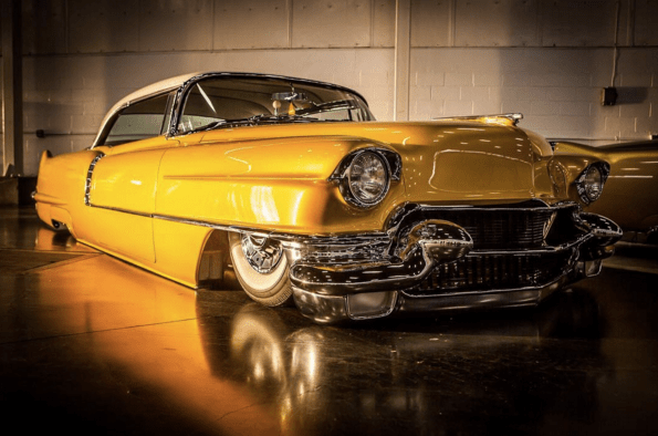 Travis Barker s Custom  54 Cadillac   Celebrity Cars Blog Travis Barker Custom 1954 Cadillac