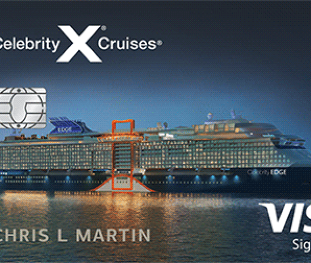 Celebrity Cruises Visa Signature Card