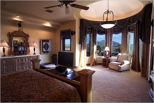 Patrick Peterson's house in Gilbert, Arizona - home photos