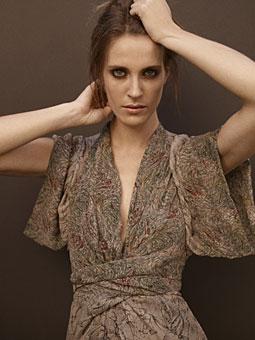 Nicole Richie Winter Kate Kimono