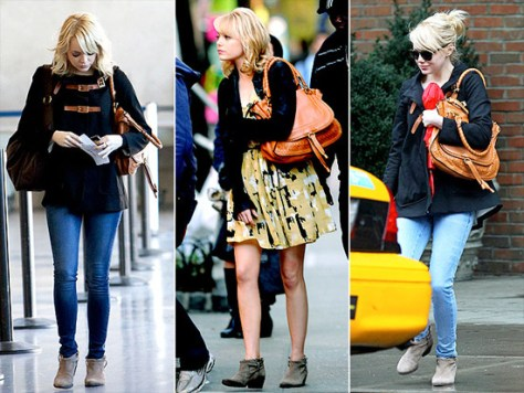 Emma Stone loves Joie Elvis Booties