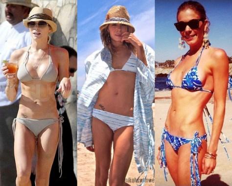 LeAnn Rimes in Mikoh Swimwear