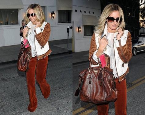 Ashley Tisdale wearing Wink Tiffany Jacket