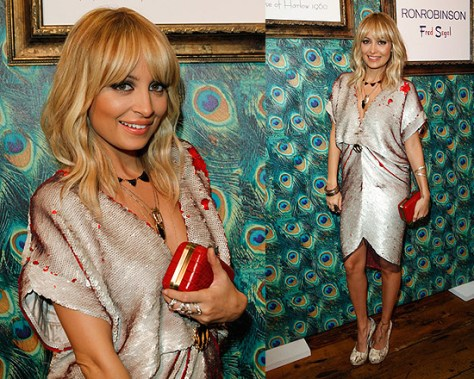 Nicole Richie in House of Harlow 1960 from Head to Toe