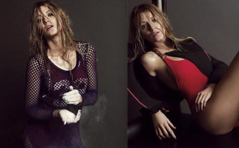 Blake Lively ELLE Magazine March 2012