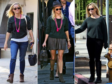 Reese Witherspoon loves Autumn Cashmere Hi Low Crew Sweater