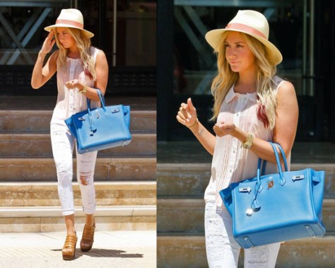 ashley-tisdale-Free-People-Molly-Solid-Buttondown