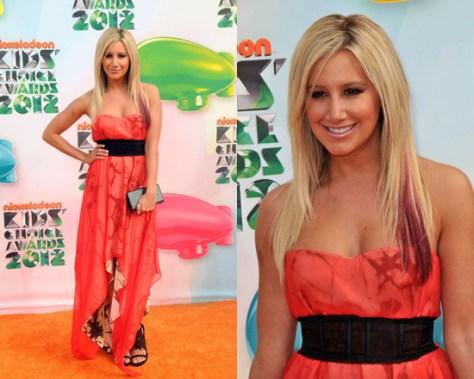 Ashley Tisdale in Kymerah Alana Dress