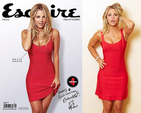 60% Off Herve leger Sleeveless A Line Dress as seen on Kaley Cuoco