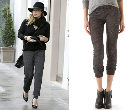 Hilary Duff steps out in 291 Slim Track Pants