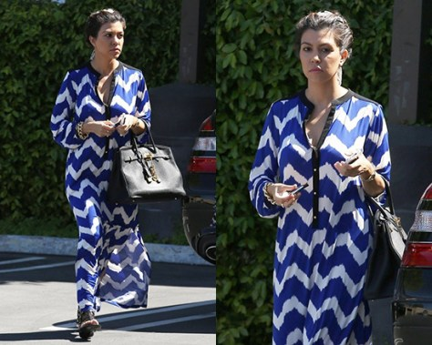kourtney-kardashian-T-bags-Valeria-Long-Dress