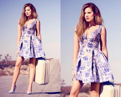 khloe-kardashian-Zimmermann-50s-Inspired-Fit-&-Flare-Dress