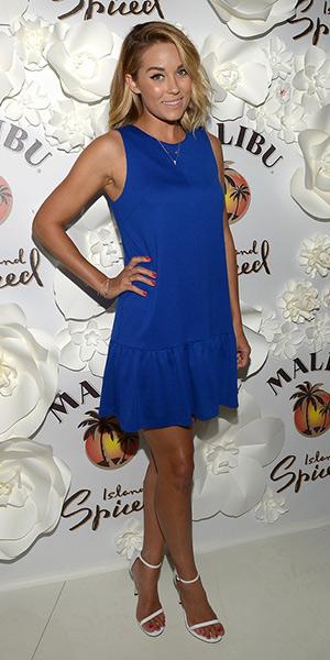 lauren-conrad-Tibi-Katia-Exposed-Back-Flirty-Faille-Dress