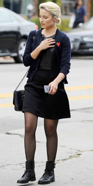 dianna-agron-Play-Comme-des-GarCons-Wool-Cardigan