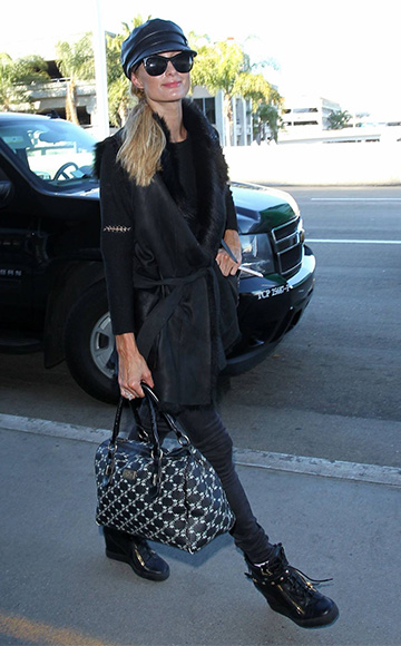 Giuseppe Zanotti Lorenz Wedge Sneakers as seen on Paris Hilton