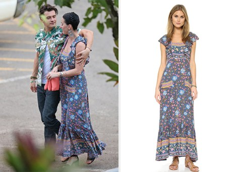 Spell Folk Town Frill Dress as seen on Katy Perry