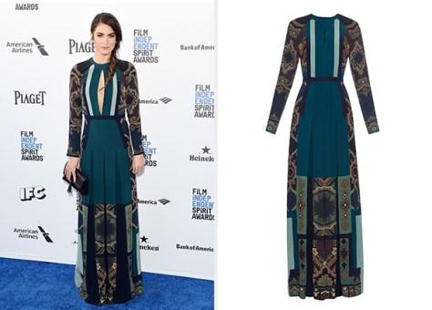 Nikki Reed 2016 Film Independent Spirit Awards Dress