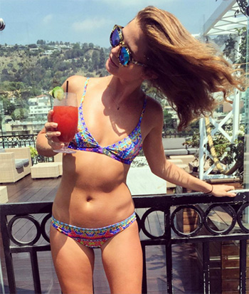 Camilla Spirit Of Ruh Soft Bra And Mini Hipster Bikini as seen on Millie Mackintosh Instagram