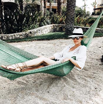 Tolani Sasha Ivory Shift Dress as seen on Kristin Cavallari Instagram