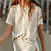 Free People We The Free Ivory Army Tee