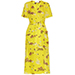 A.L.C. Stephanie Floral-Print Wrap Dress