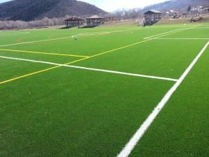 artificial turf sports fields