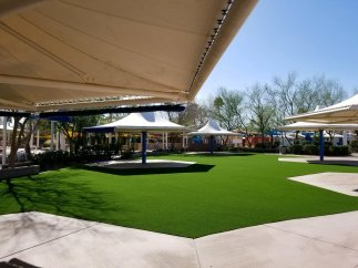 arizona waterpark with artificial grass