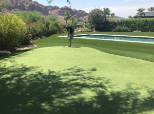 phoenix custom backyard putting greens