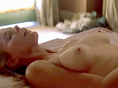 Kim Basinger nude tits and bush in hot sex act