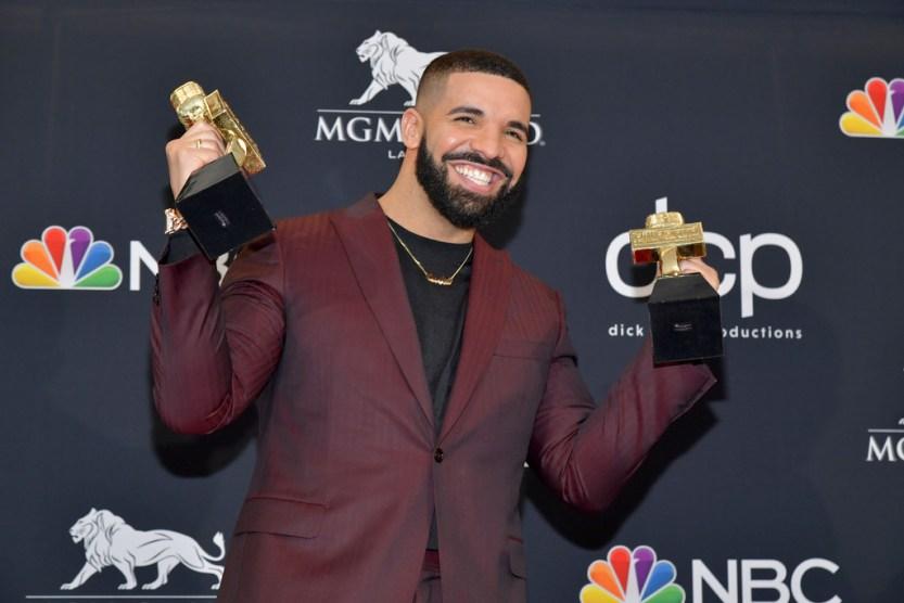 5e51e8f667571 Drake Breaks Record for Most Wins at 2019 Billboard Music Awards ...