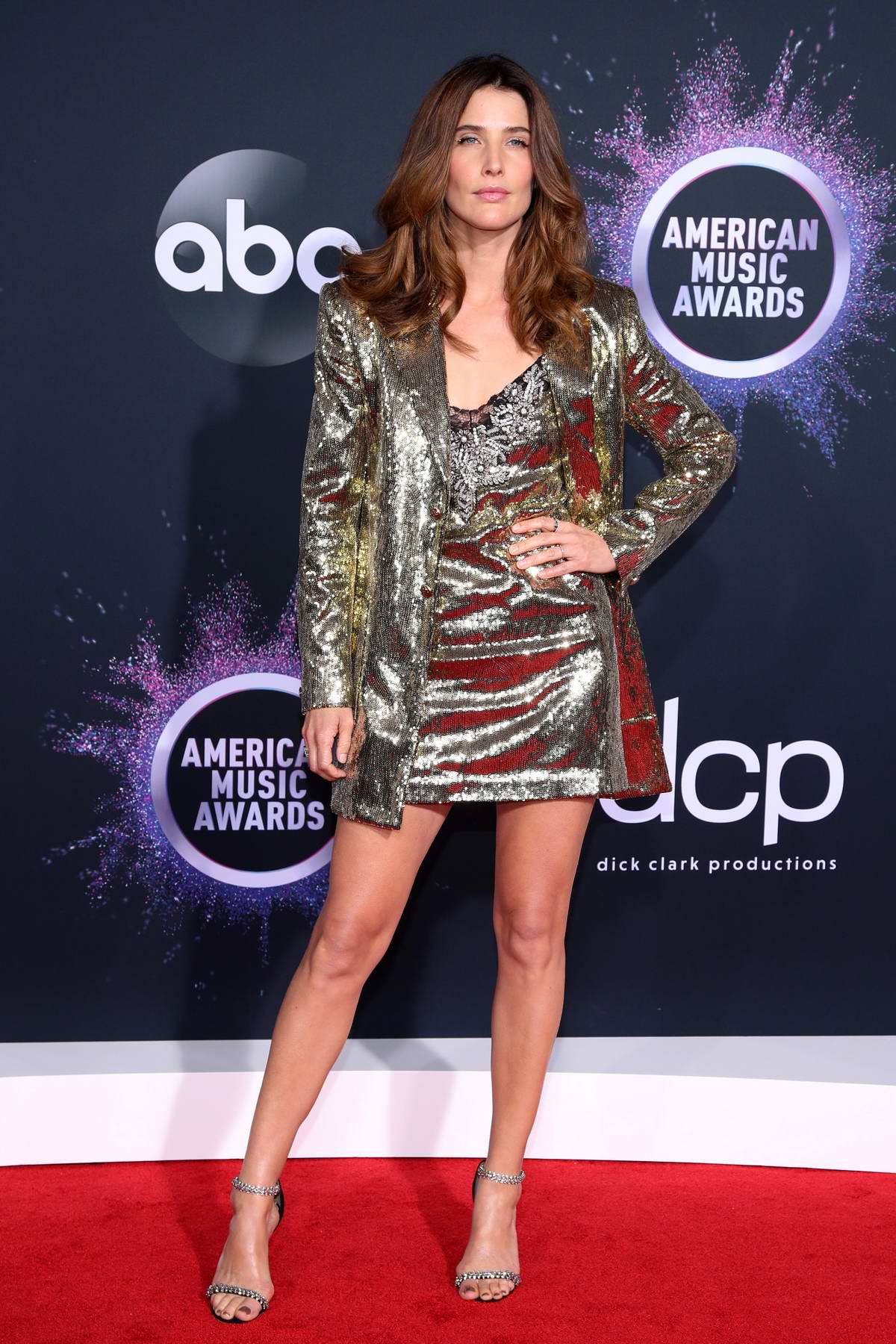 Cobie Smulders Attends The American Music Awards At