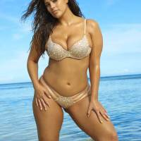 Ashley Graham Stills in Sports Illustrated Swimsuit Edition 2017
