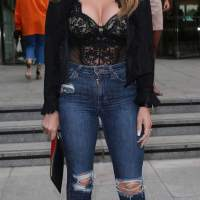 Naomi Isted Stills at Emporio Armani You Fragrance Launch in London