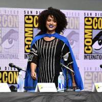 Nathalie Emmanuel Photos at Comic-con in San Diego