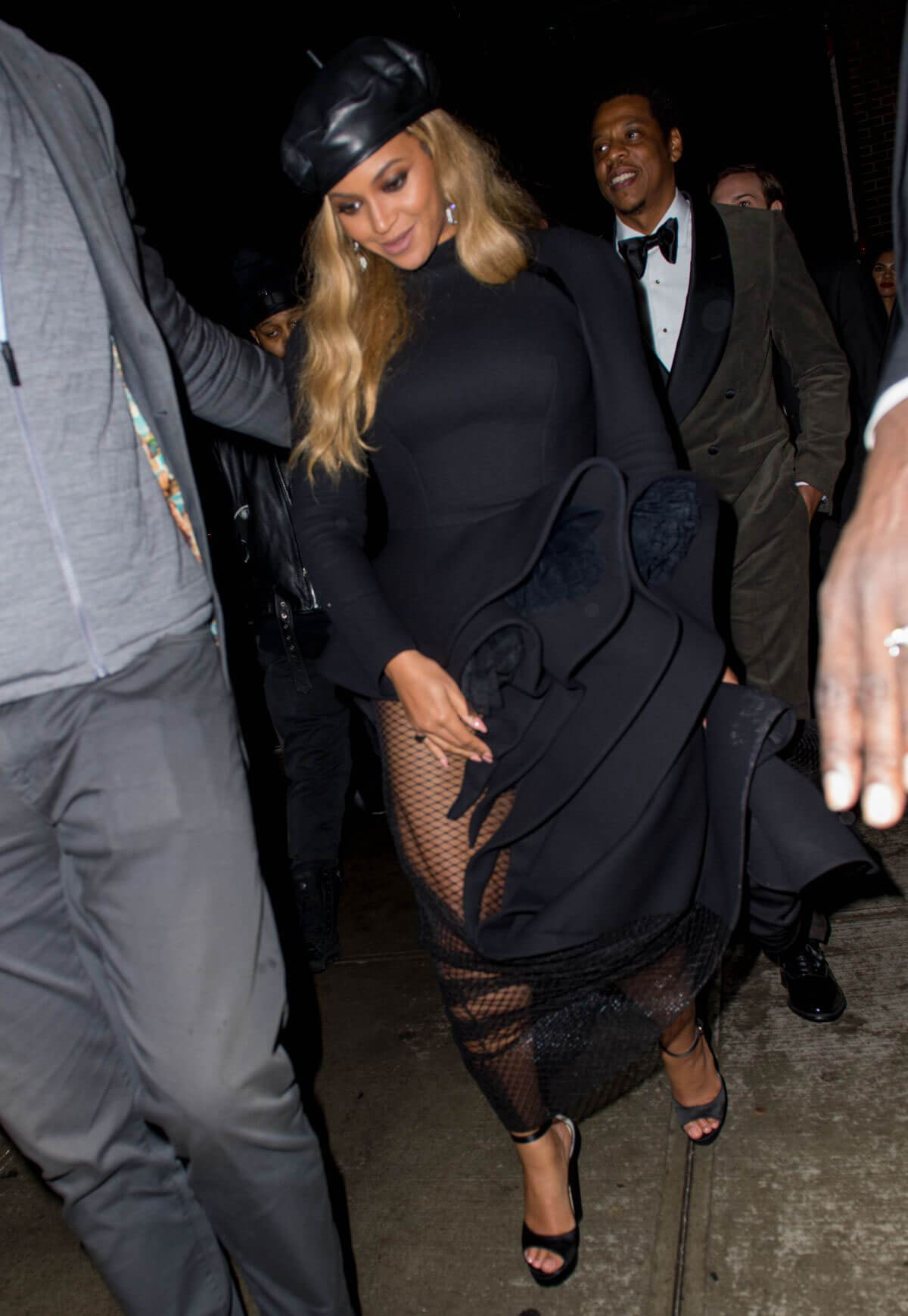 Beyonce And JAY Z Stills At Catch Restaurant In New York