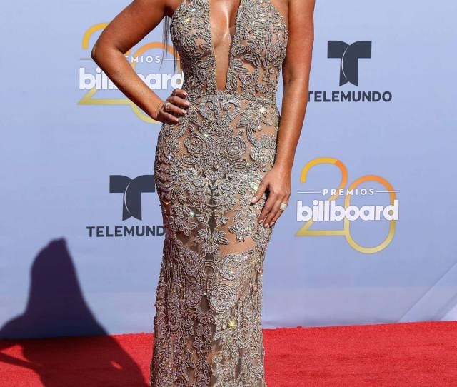 Gaby Espino Stills At Billboard Latin Music Awards In Las Vegas