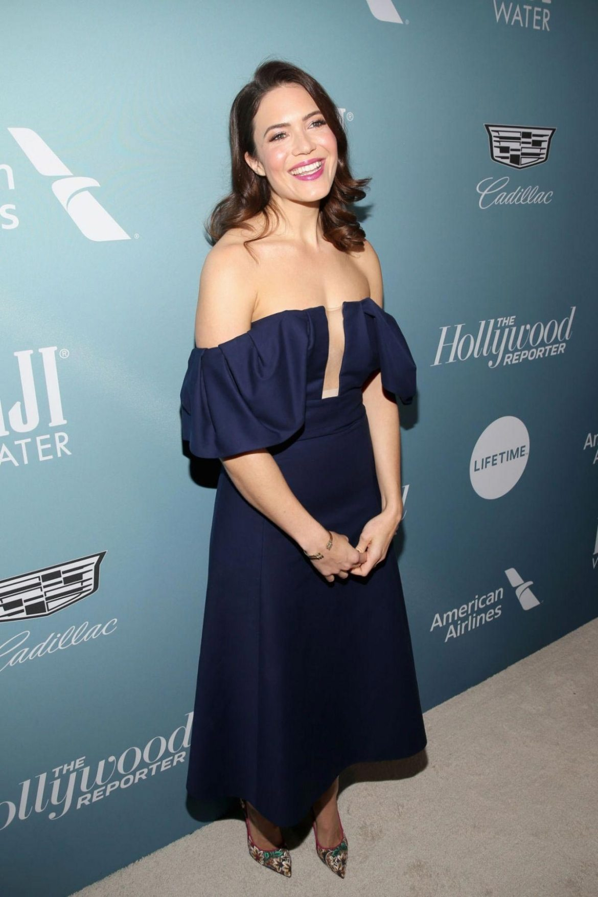 Mandy Moore at Hollywood Reporter's Power 100 Women in Entertainment in Los Angeles 2018/12/05