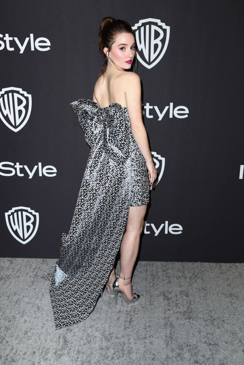 Kaitlyn Dever at Instyle and Warner Bros Golden Globe Awards Afterparty in Beverly Hills 2019/01/06