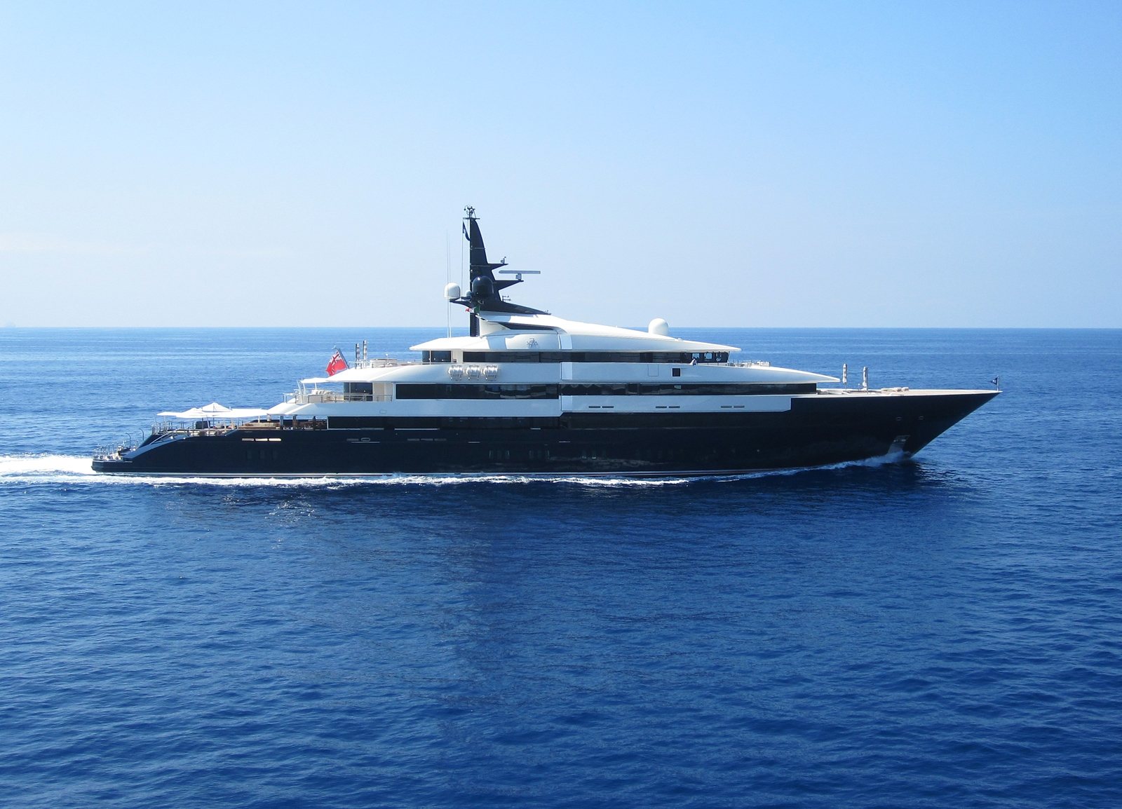 INSIDE SCOOP Steven Spielbergs 200million Superyacht