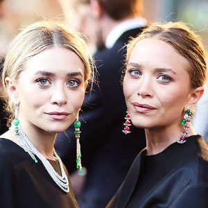 Olsen Twins Mary-Kate and Ashley