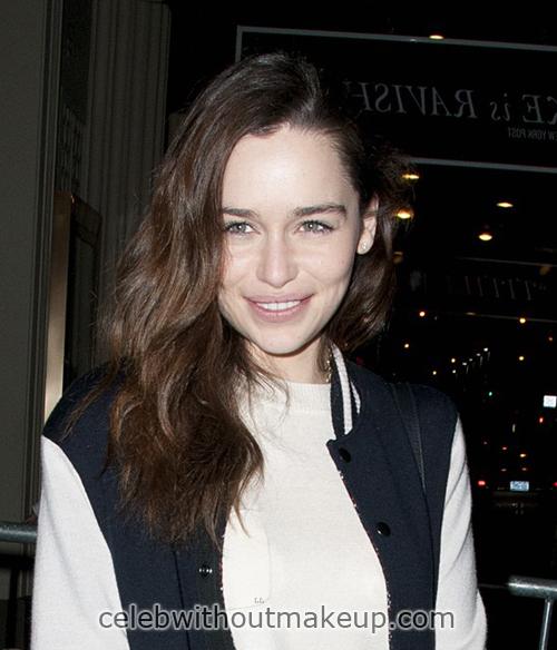 Emilia Clarke Natural Face