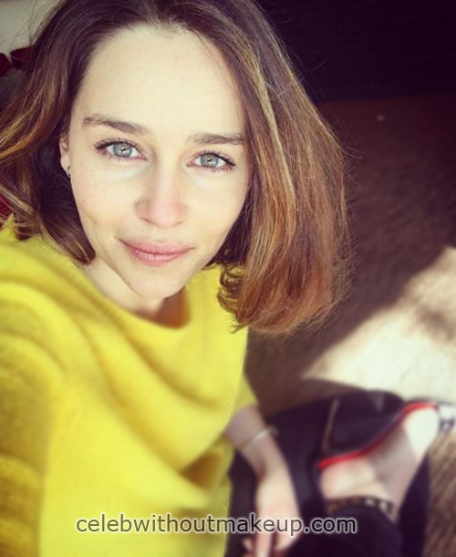 Emilia Clarke No Makeup