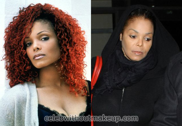 janet jackson no makeup