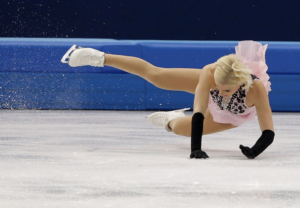 Viktoria Helgesson At Sochi Winter Olympics